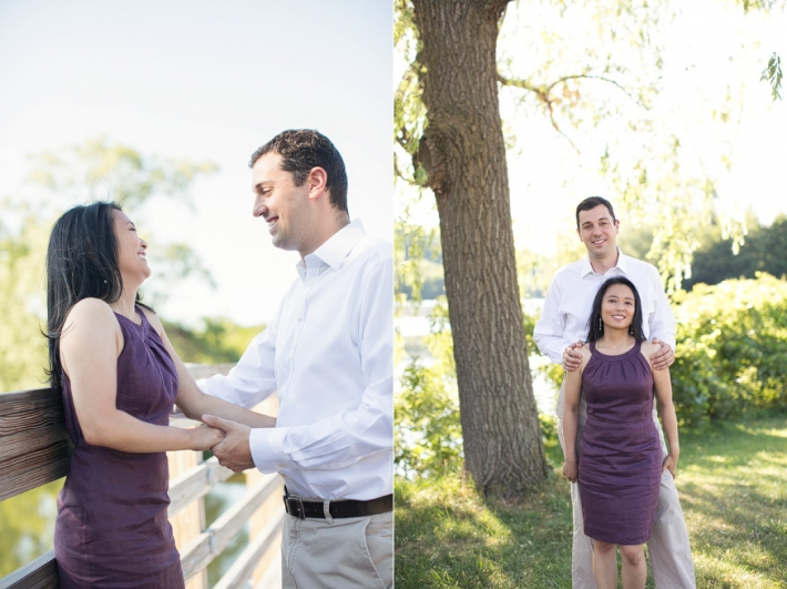 Ann Arbor engagement photographs, Gallup Park