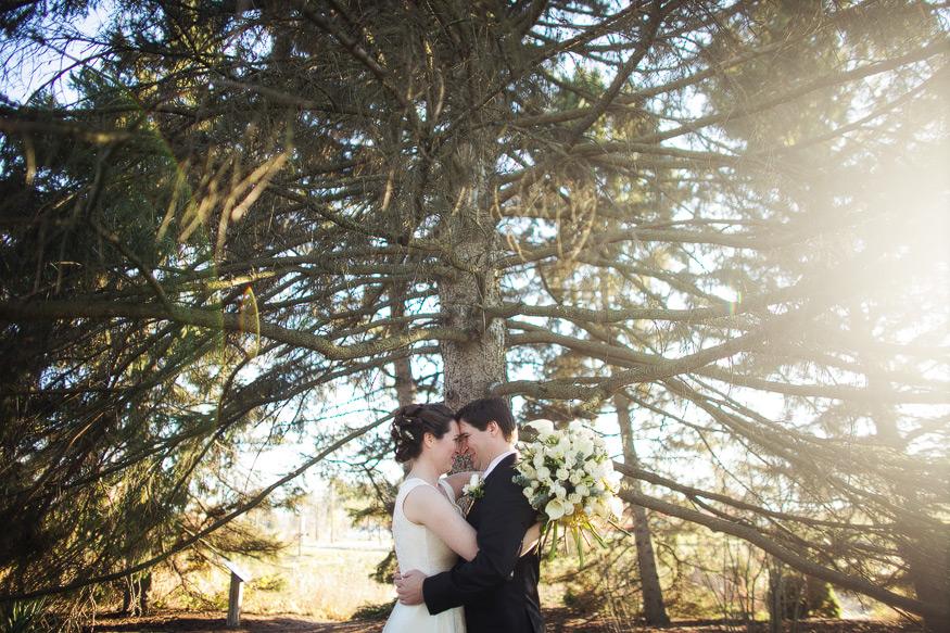 Matthaei Botanical Garden Wedding In Ann Arbor Michigan